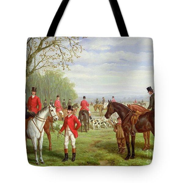 The Meet Tote Bag by Edward Benjamin Herberte