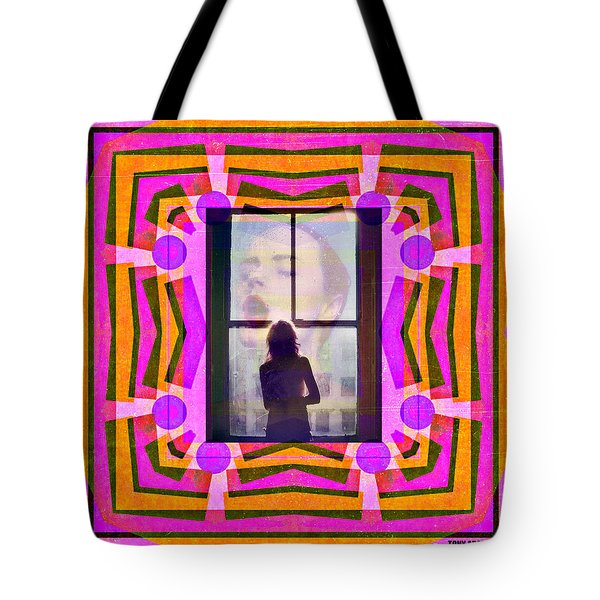The Memory Of That Kiss Tote Bag by Tony Adamo