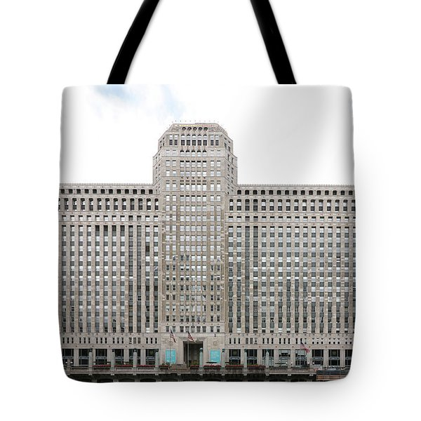 Tote Bag featuring the photograph The Merchandise Mart by Jackson Pearson