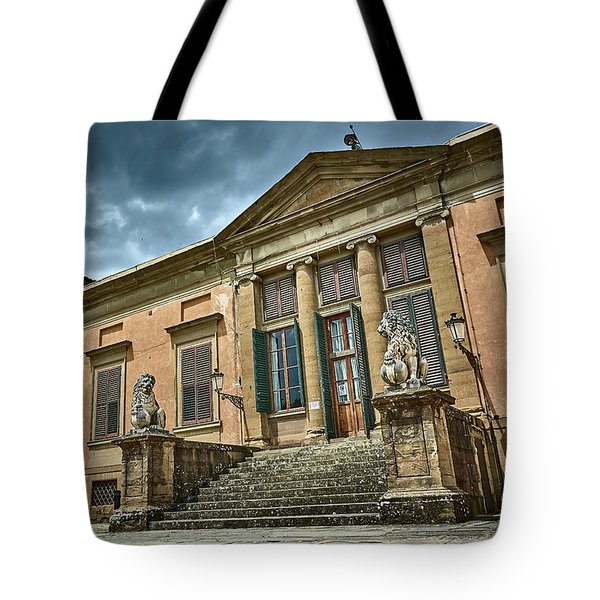 The Meridian Palace In The Pitti Palace Tote Bag