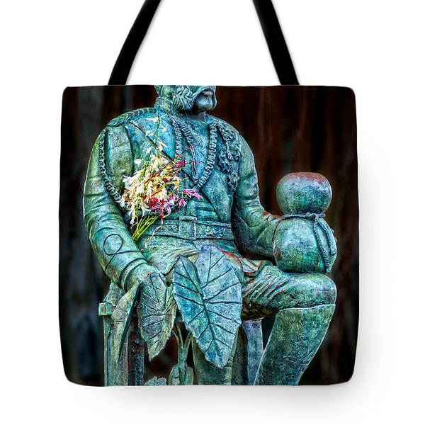 The Merrie Monarch Tote Bag by Christopher Holmes