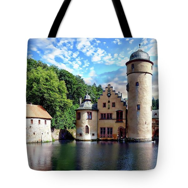 The Mespelbrunn Castle Tote Bag