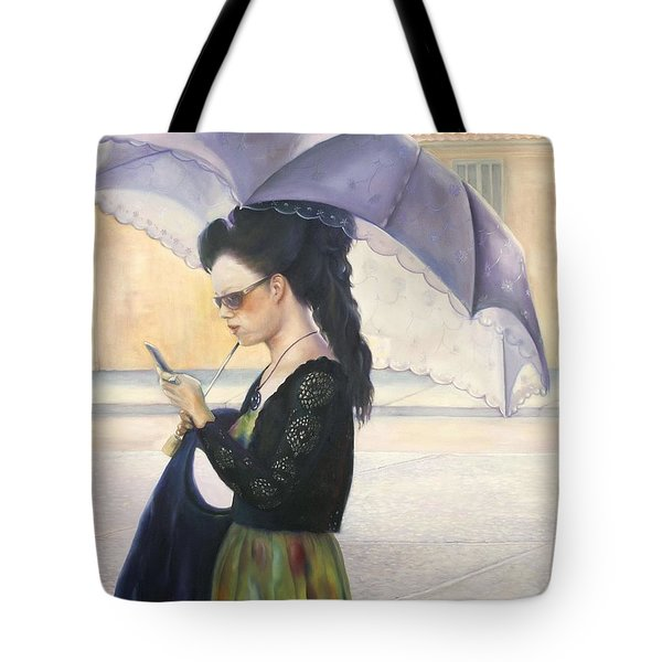 The Message Tote Bag by Marlene Book