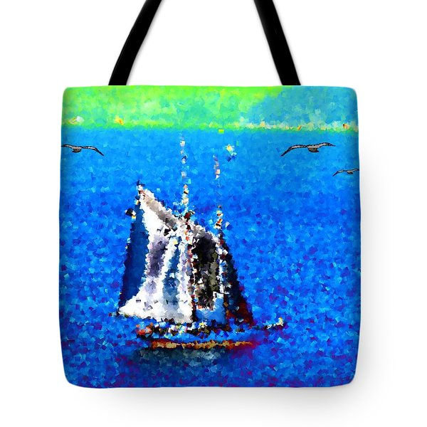 The Messengers Tote Bag by Tim Allen
