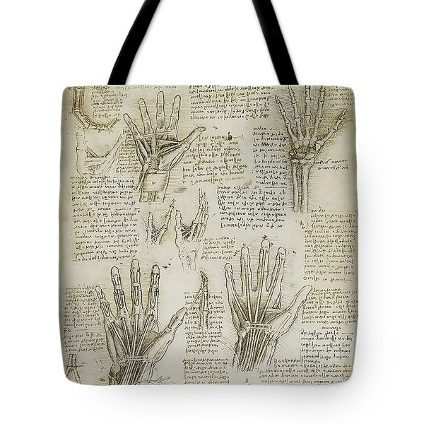 The Metacarpal Tote Bag by James Christopher Hill
