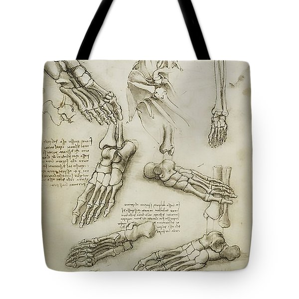 The Metatarsal Tote Bag by James Christopher Hill
