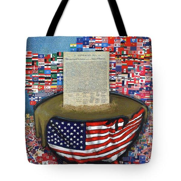 The Metling Pot Tote Bag