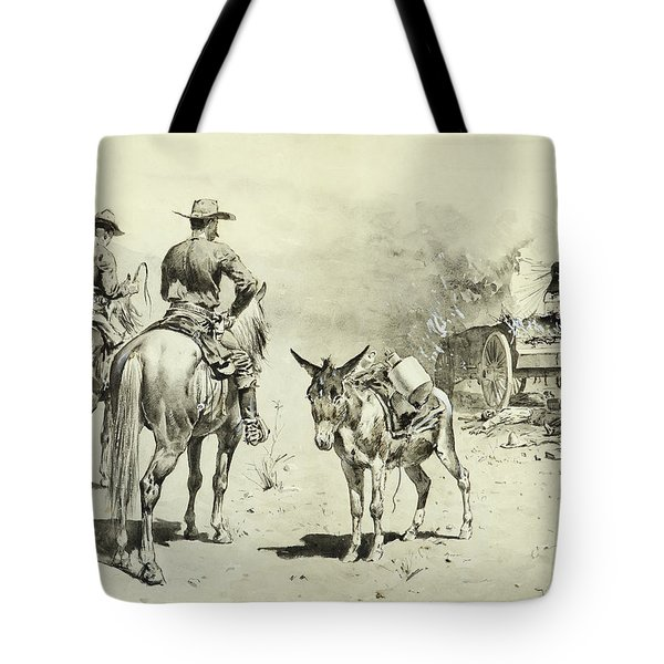 The Mexican Freight Wagon  Tote Bag