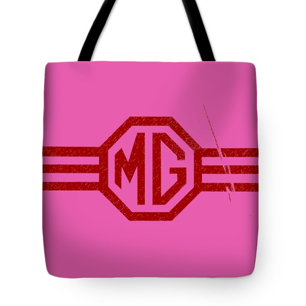 The Mg Sign Tote Bag