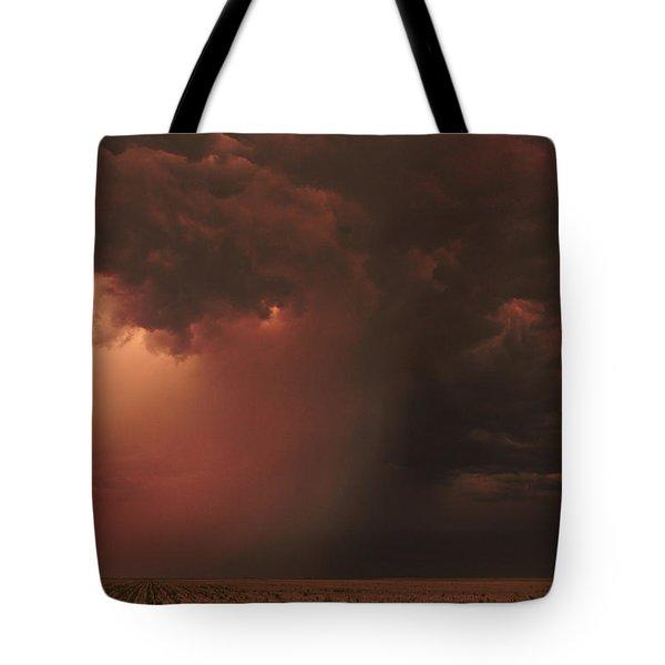 The Microburst Tote Bag