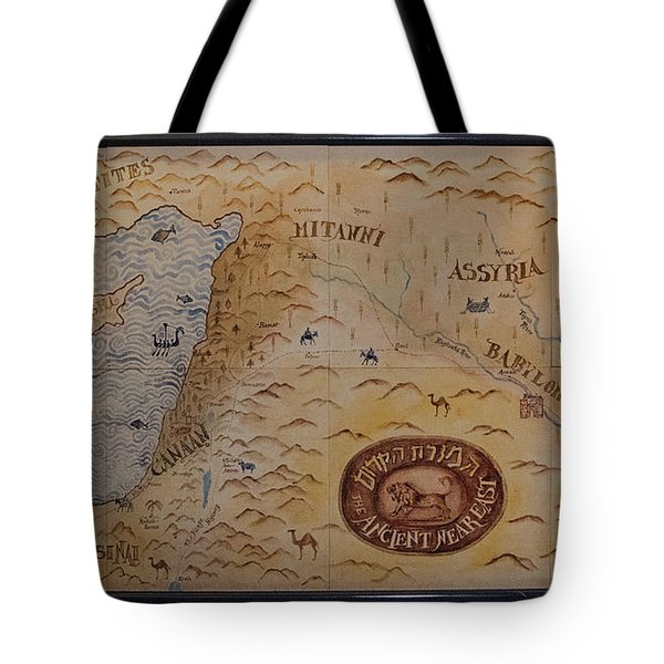 Tote Bag featuring the photograph The Middle East by Mae Wertz
