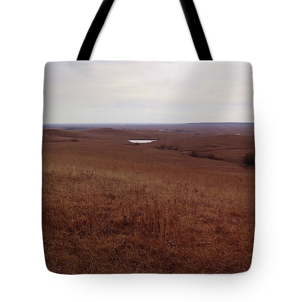 The Middle Of The Flint Hills Tote Bag