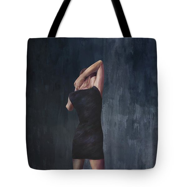 The Midnight Diary Tote Bag by Paul Cristian Panaete