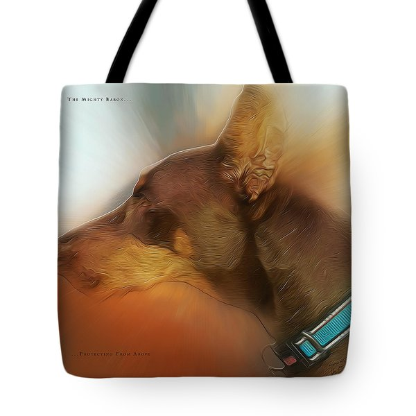 The Mighty Baron Tote Bag