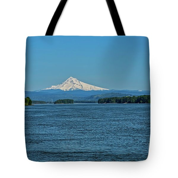 The Mighty Columbia Tote Bag by Jon Burch Photography