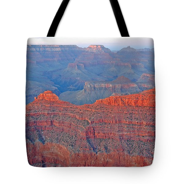 The Mighty Grand Canyon Tote Bag by Nick  Boren