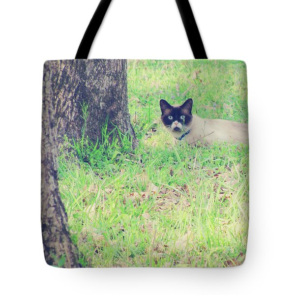 The Mighty Hunter Tote Bag by Amy Tyler
