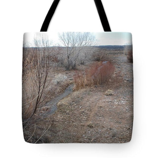The Mighty Santa Fe River Tote Bag by Rob Hans