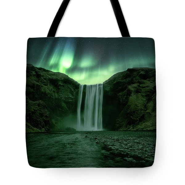 The Mighty Skogafoss Tote Bag