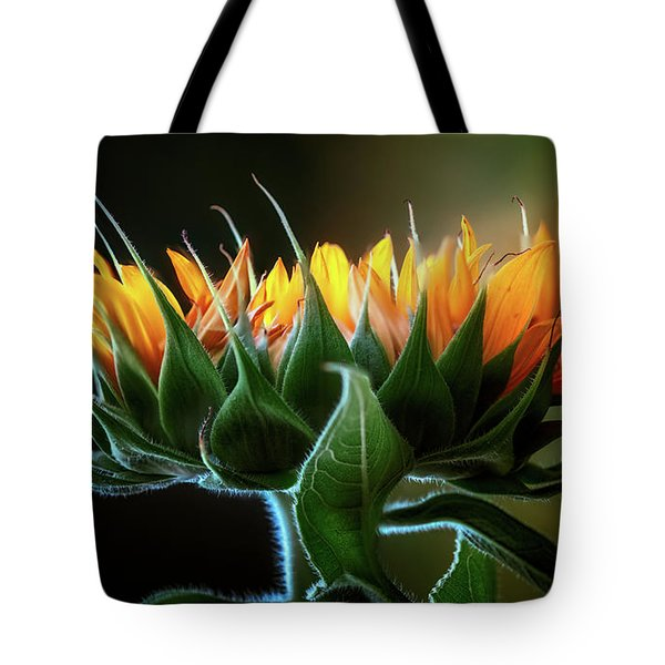 The Mighty Sunflower Tote Bag