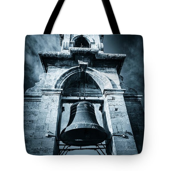 The Miguelete Bell Tower Valencia Spain Tote Bag