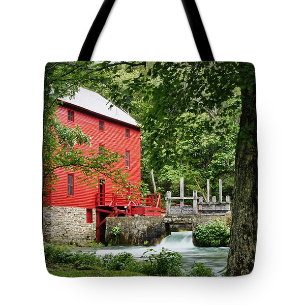 The Mill At Alley Spring Tote Bag