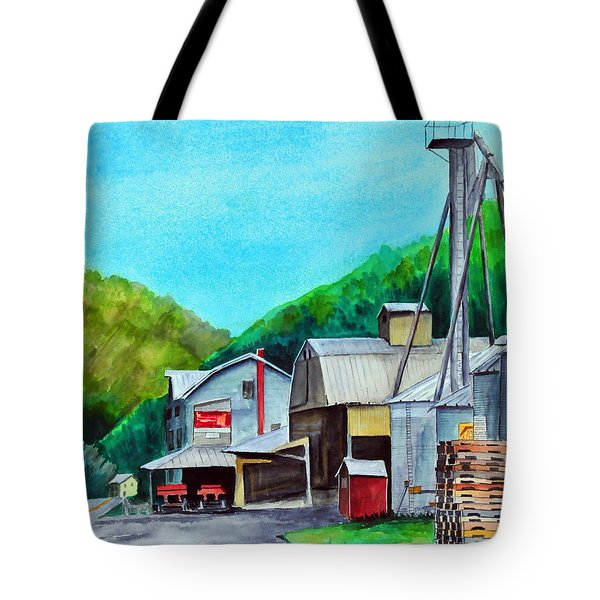 The Mill At Shade Gap II Tote Bag