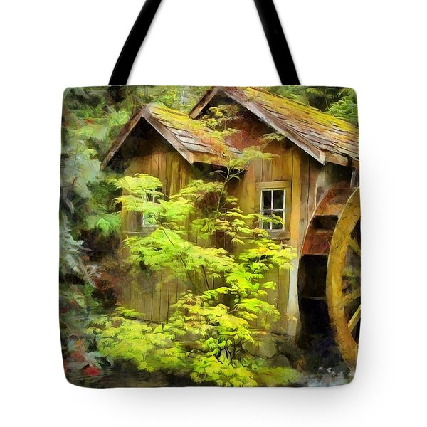 The Mill Tote Bag by Eva Lechner