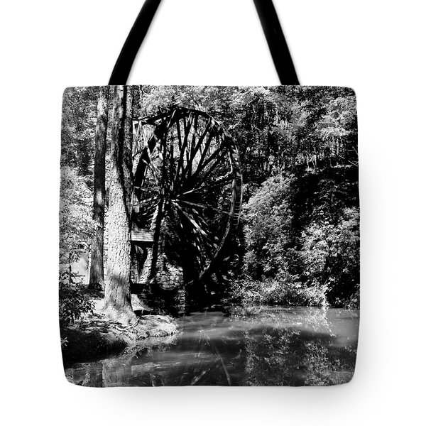 The Mill Wheel Tote Bag