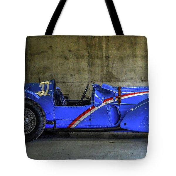 The Million Franc Car Tote Bag