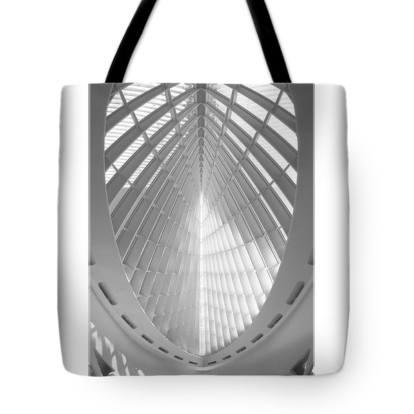 The Milwaukee Art Museum Tote Bag by Mike McGlothlen