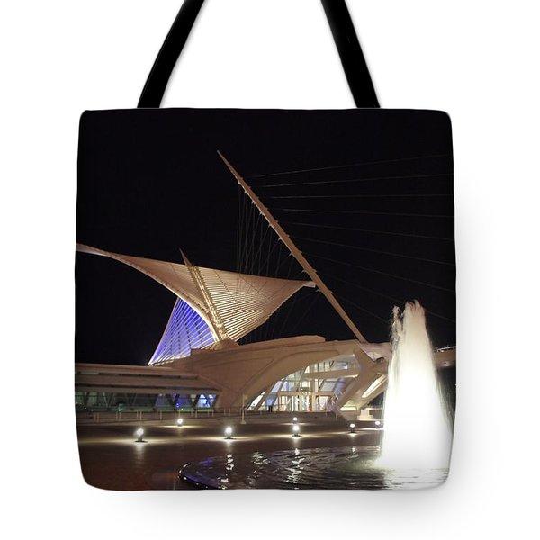 The Milwaukee Art Museum  Tote Bag