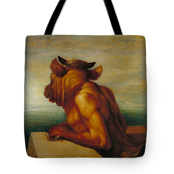 The Minotaur Tote Bag by George Frederic Watts