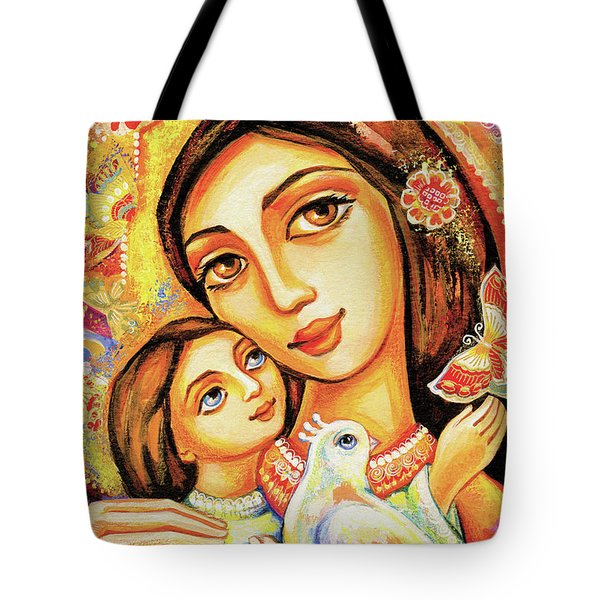 The Miracle Of Love Tote Bag