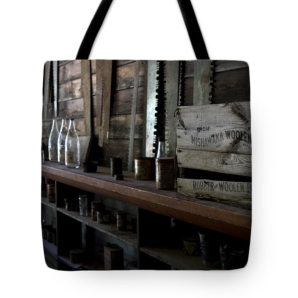 The Mishawaka Woolen Bar Tote Bag