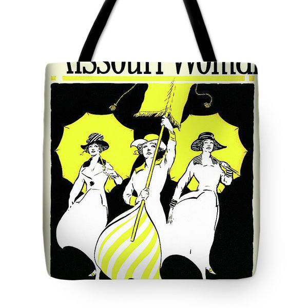 The Missouri Woman From June 1916, The Suffrage Issue Tote Bag