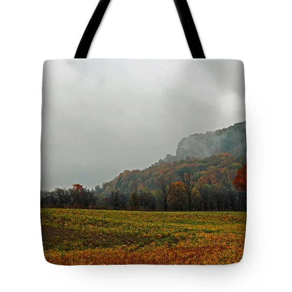 Tote Bag featuring the photograph The Mist by John Stuart Webbstock