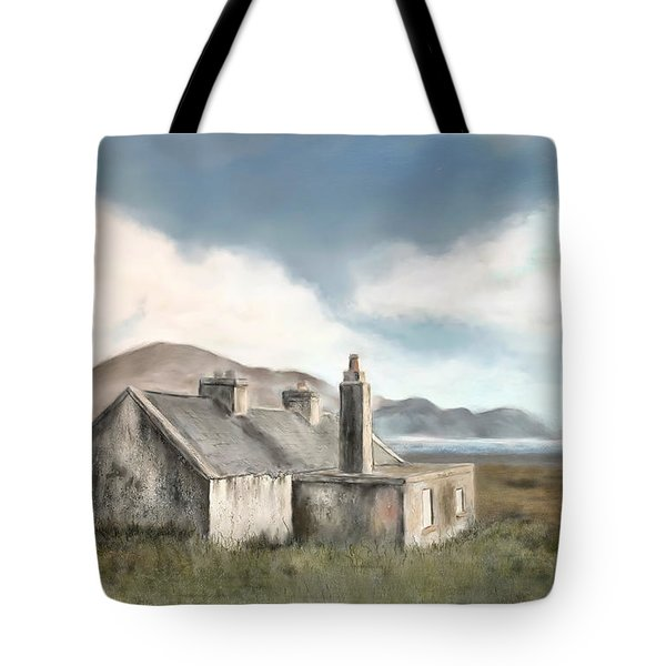 The Mist Of Moorland Tote Bag by Colleen Taylor
