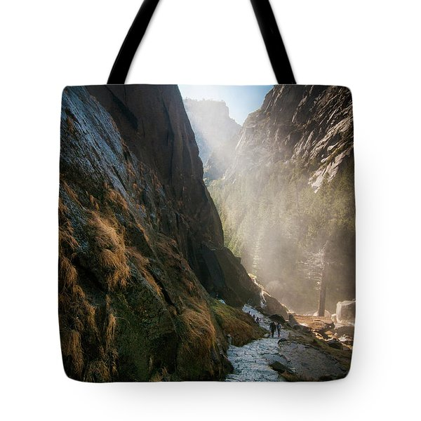 The Mist Trail Tote Bag