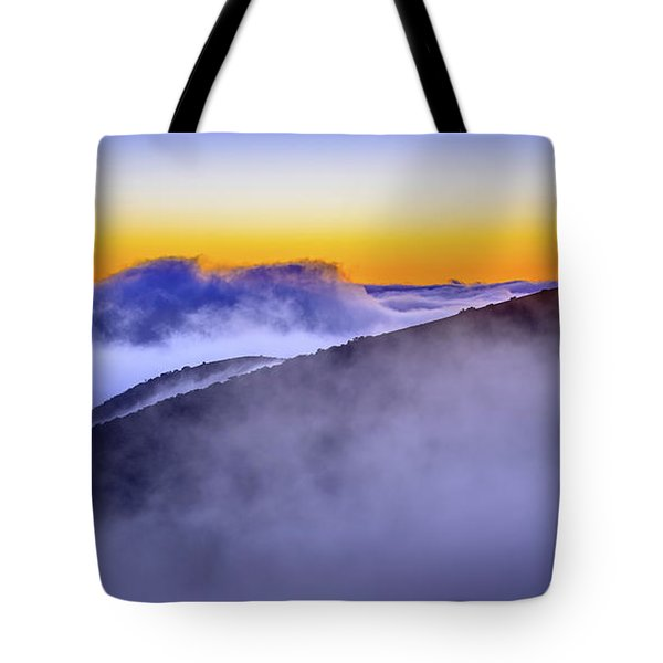 The Mists Of Cloudfall Tote Bag