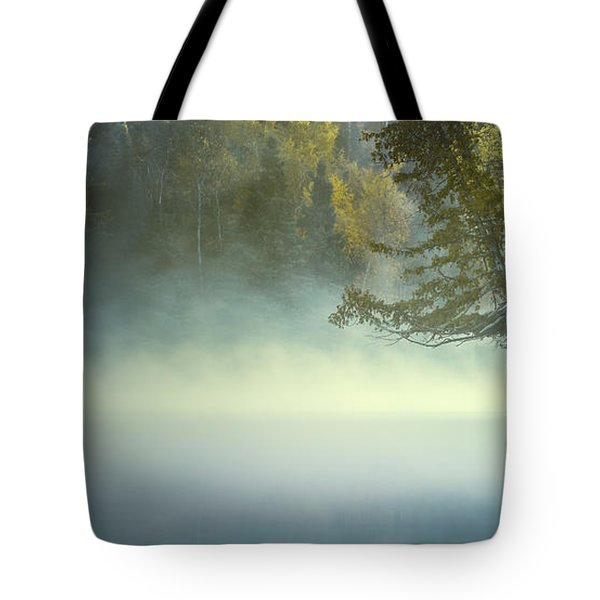 The Mists Of Hunt Lake Tote Bag