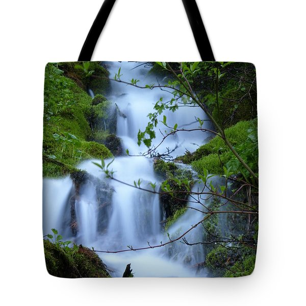 The Misty Brook Tote Bag