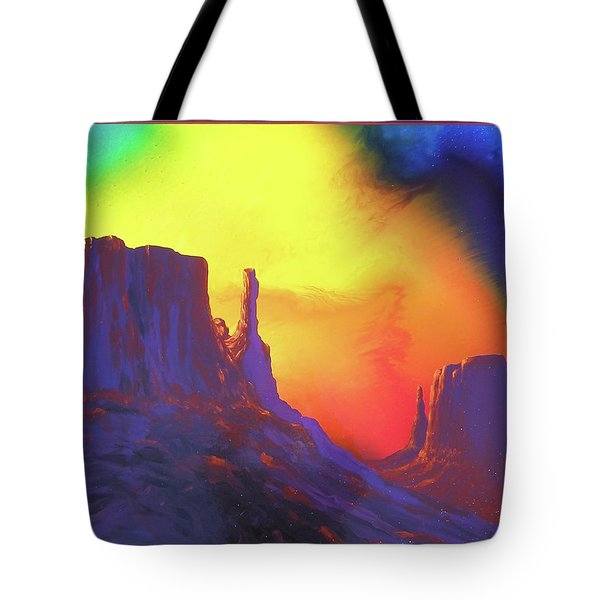 The Mittens , Psalm 19 Tote Bag