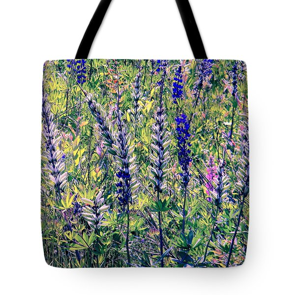 Tote Bag featuring the photograph The Mix by Elfriede Fulda
