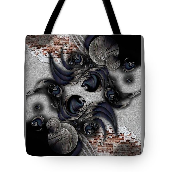 The Modern Projection Tote Bag by Carmen Fine Art