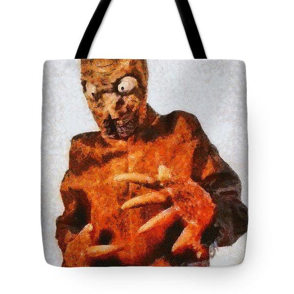 The Mole People, Vintage Sci-fi Tote Bag