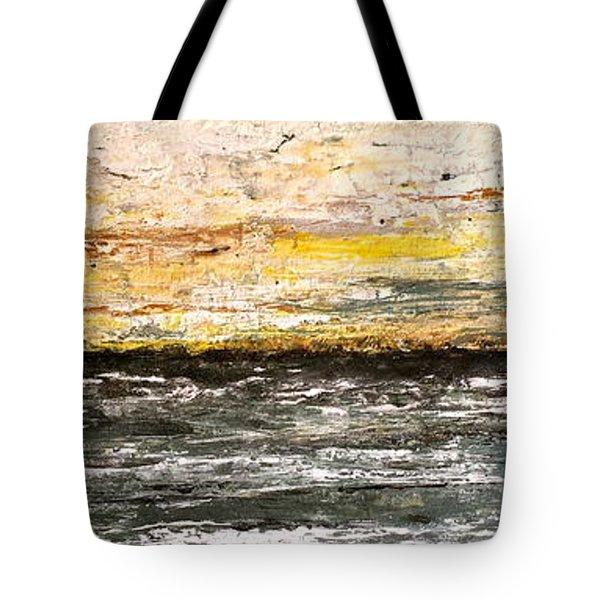The Moment 3 Tote Bag by Shabnam Nassir