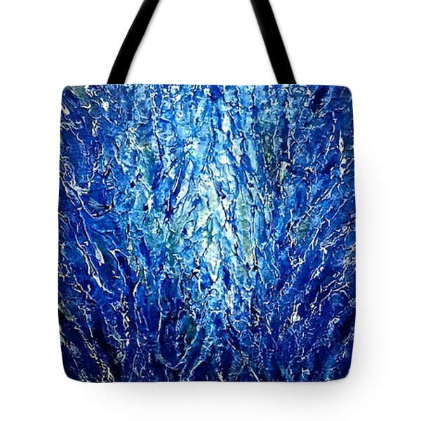The Moment 5 Tote Bag by Shabnam Nassir