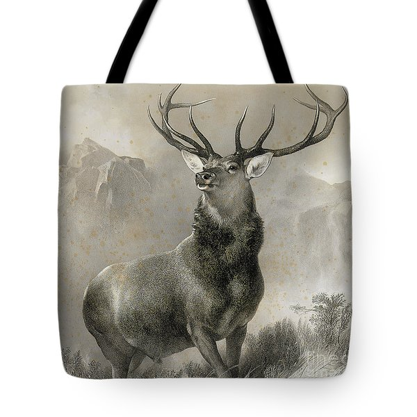 The Monarch Of The Glen, 1852 Tote Bag