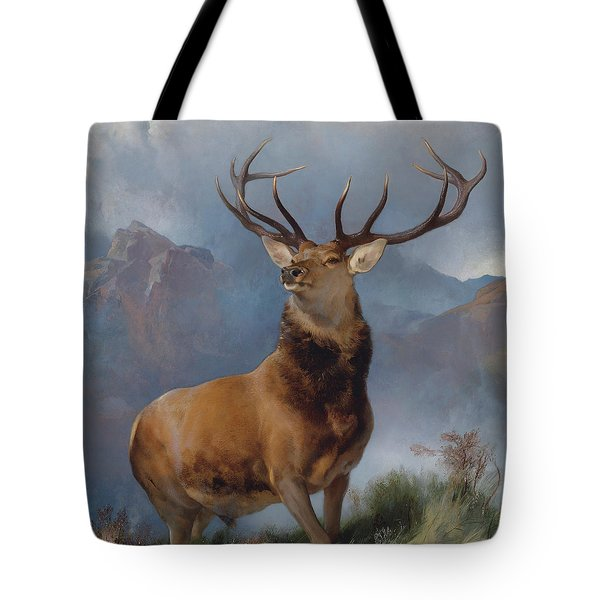 The Monarch Of The Glen Tote Bag